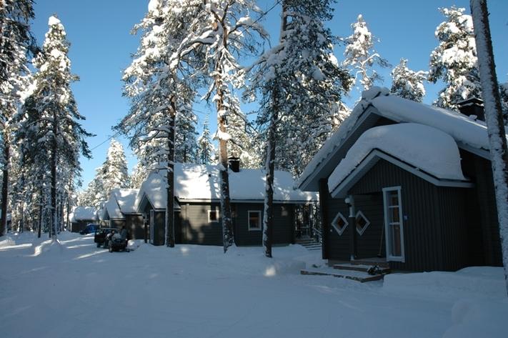 Lodge in lapponia kuusamo la finlandia d 39 autore in for Planimetrie di piccoli cottage