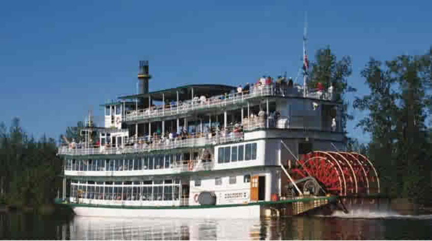 Riverboat fairbanks