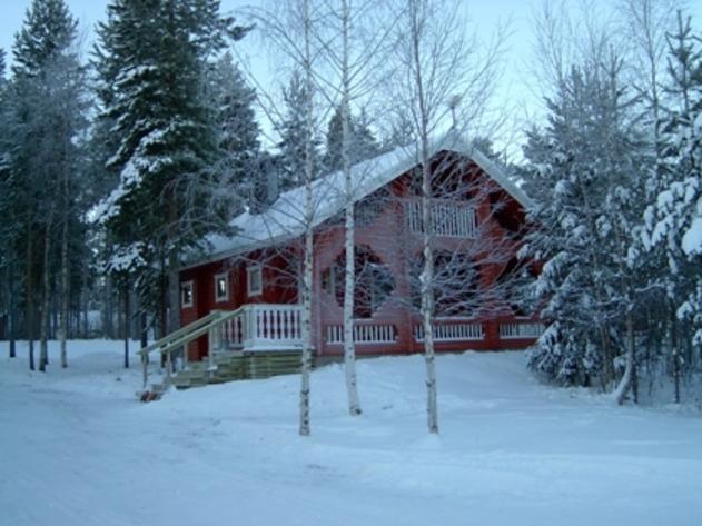 Lodge in lapponia bianca neve il resort di gestione for Planimetrie di piccoli cottage
