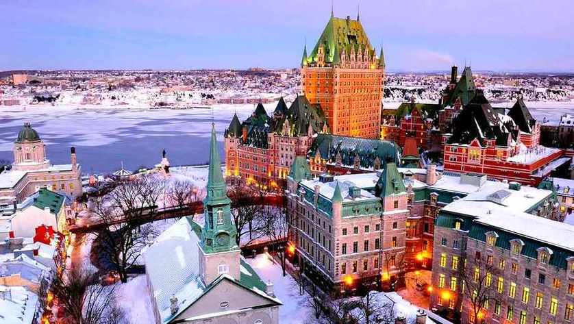 Quebec winter