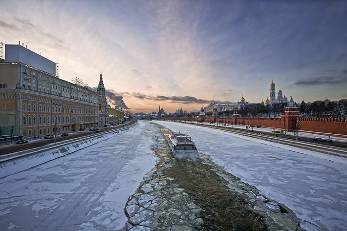 Icebraker and the kremlin