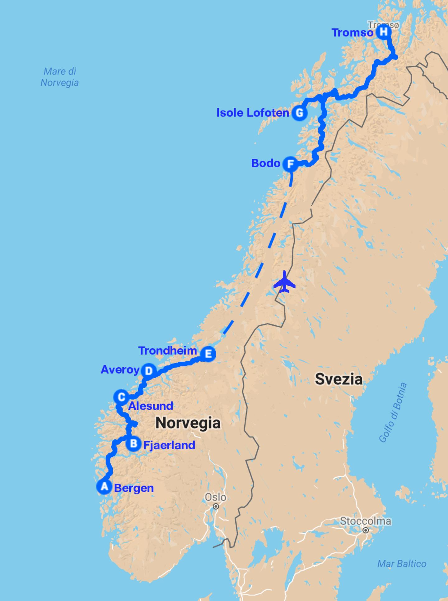 La Norvegia Cartina.Fly Drive Norvegia Direzione Nord Magnifici Fiordi E Terra Di Arcipelaghi Norama Tour Operator