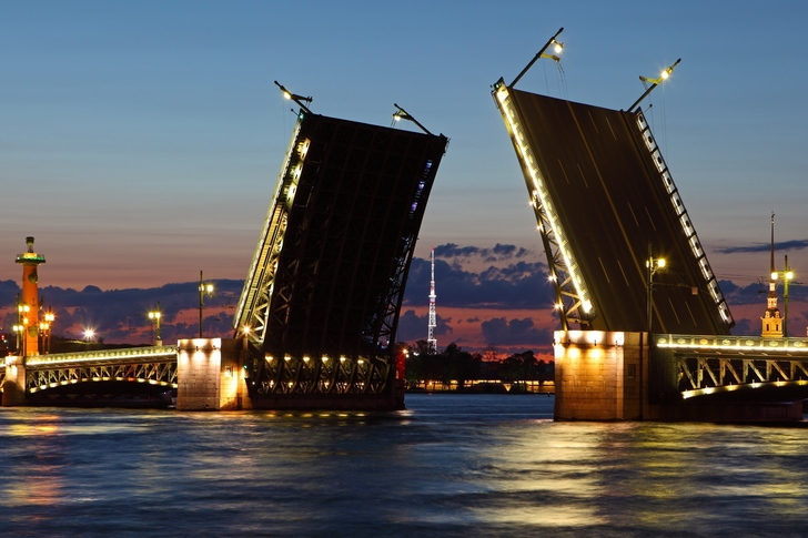 Drawbridge led