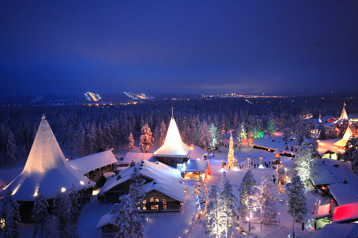 St claus village